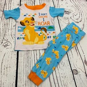 Disney Lion King Pajama Set